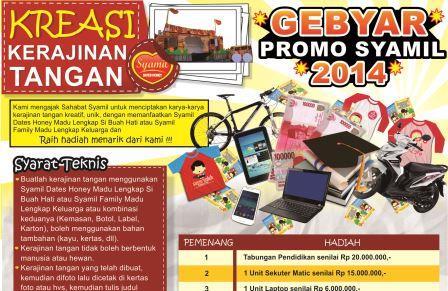 GEBYAR PROMO SYAMIL 2014!