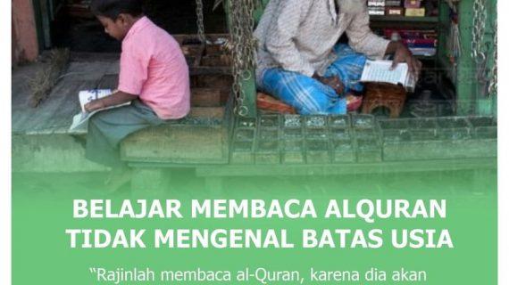 Belajar Membaca Al-Qur'an Tidak Mengenal Batas Usia